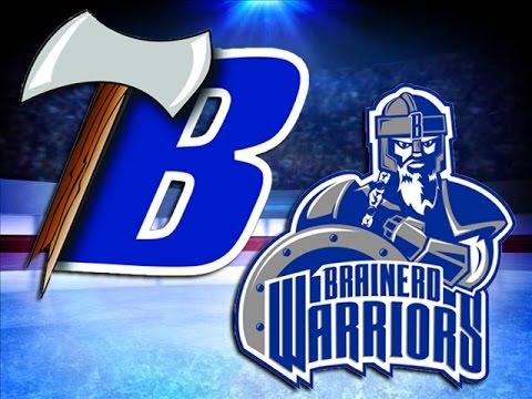 Brainerd Boys Hockey Downs Reigning Section Champ Bemidji In OT