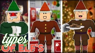 Roblox Bloxburg| Type's Of Elf's