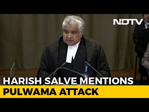 India Cites Pulwama At UN Court, Says Pak Using Kulbhushan Jadhav As Pawn