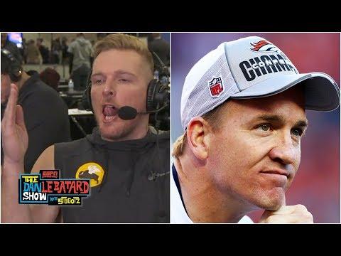 Pat McAfee tells amazing Peyton Manning story | Dan Le Batard Show