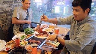 ВЛОГ Корея  Собрали РОДСТВЕННИКОВ на ужин  17.08.19