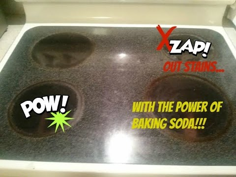 How To Clean Your Glass Or Ceramic Stove Top! - Youtube