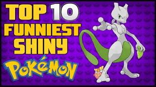 Top 10 Funniest Shiny Pokémon