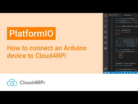 PlatformIO - Cloud4RPi Documentation