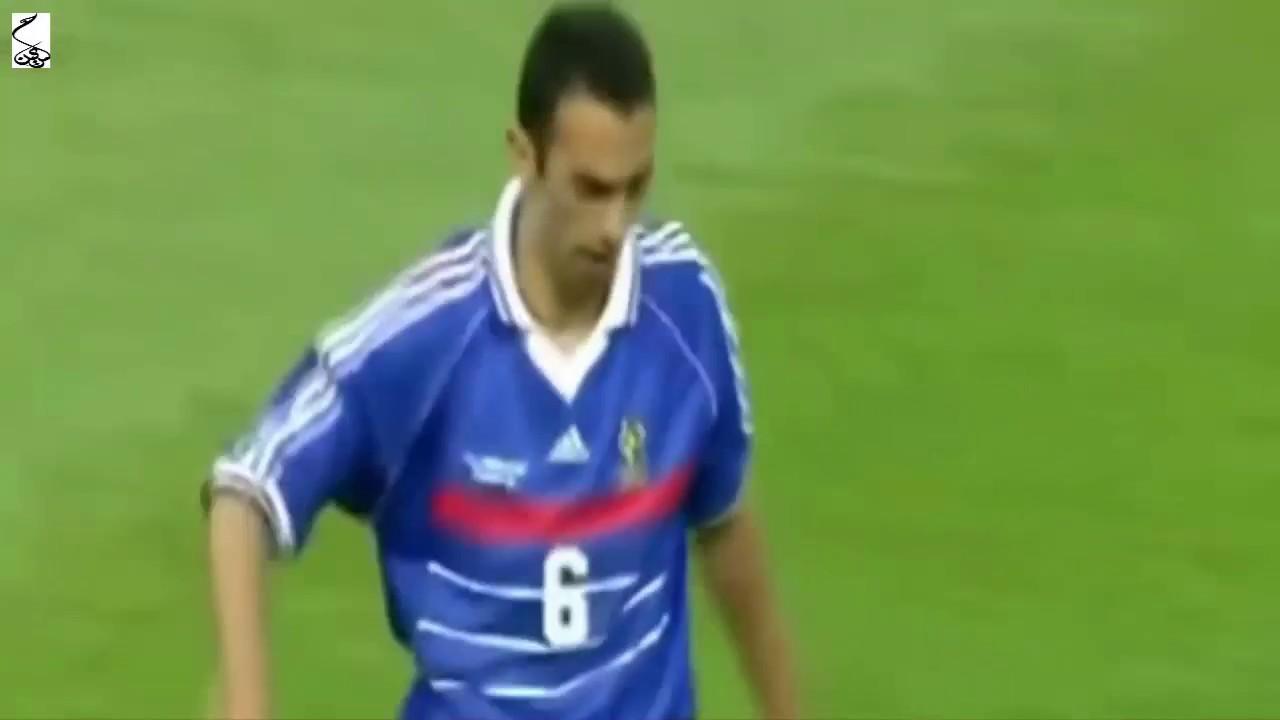 ملخص مباراة فرنسا والبرازيل 3-0   نهائي كاس العالم 1998