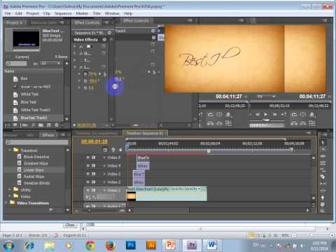 How to create Karaoke Title and lyric running in Adobe Premiere