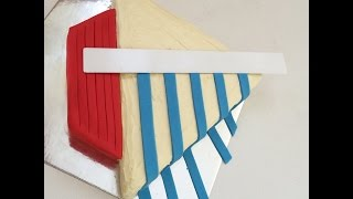 How to Make a Sailing Boat Birthday Cake
