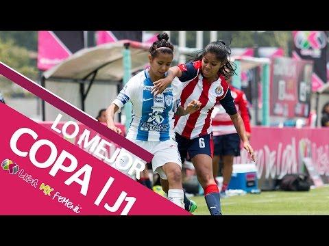 Así se vivió la jornada 1 de la Copa de la LIGA MX Femenil 2017