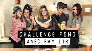 EMY LTR nous défie au CHALLENGE PONG I EppColine, Marion Seclin, Pastel et Estelle Blog Mode