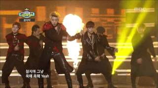Repeat youtube video Block B - NILLILI MAMBO, 블락비 - 닐리리 맘보, Show Champion 20121127