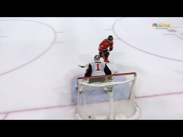 Blackhawks top Senators in shootout