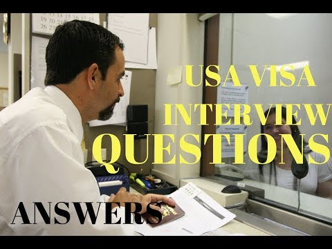 US VISA Interview Process, Questions And Answers B1/B2  By Abhishek Sharma