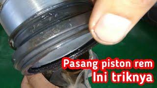 Video diatas adalah trik cara memasang piston rem depan Mitsubishi ...