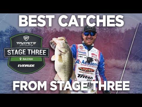 Best Catches From Stage Three Raleigh | MLF REWIND
