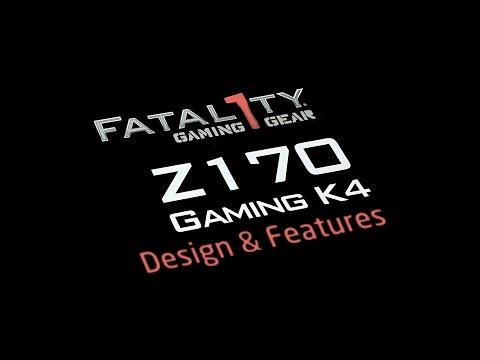 Grigio Asrock Fatal1Ty B250 Gaming K4 Scheda Madre
