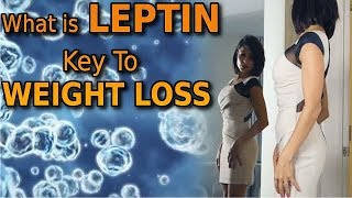 About leptin in weight lost