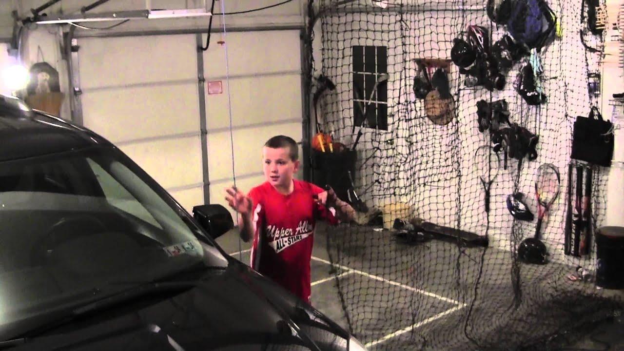 2013 Garage Hitting Net Youtube