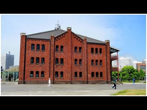 Living in Japan: Yokohama Red Brick Warehouse & Osanbashi Pier