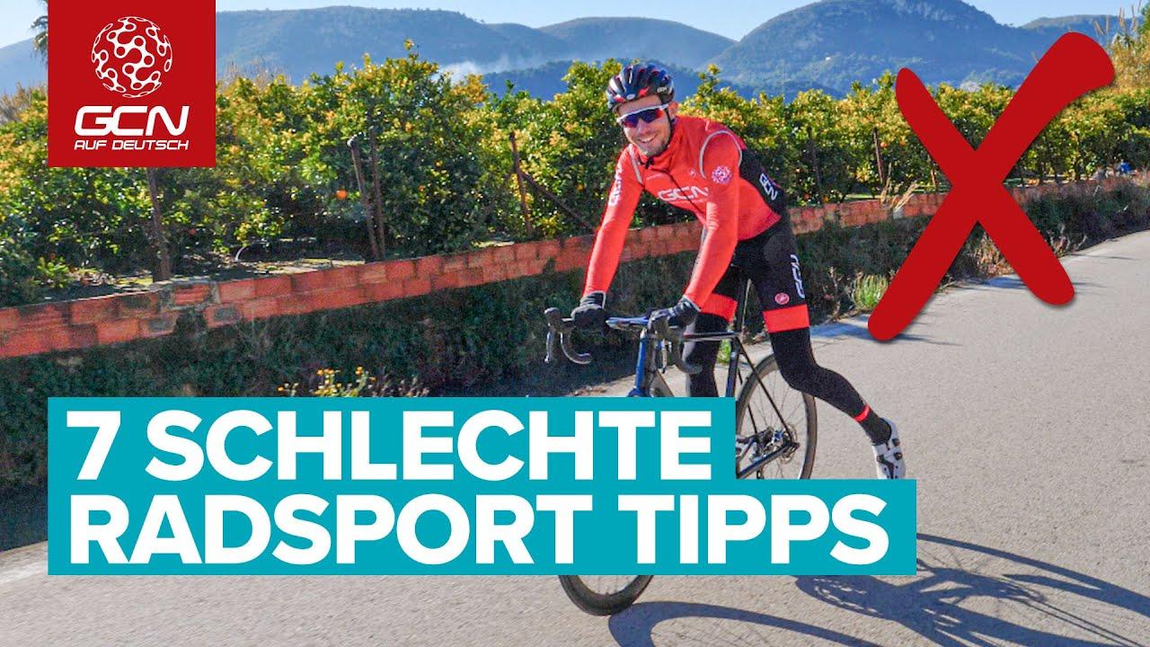 Download 7 schlechte Radsport Tipps | Dinge, die du vermeiden solltest