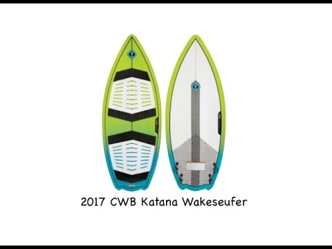 2017 CWB Katana Wakesurfer - Review - The-House.com