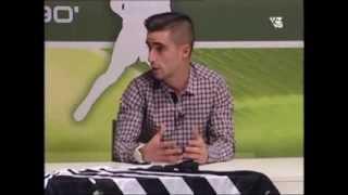 Entrevista a Víctor Pino en Minuto90' TVCS (10/02/2014 - C.D.Castellón)