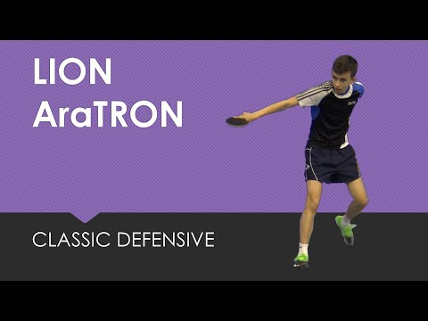 Review Lion AraTRON #tabletennis