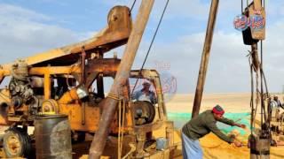 أخبار اليوم | معجزة ..مياه جوفية صالحة لزراعة ٧ ملايين فدان بـ«صحراء مصر الغربية»