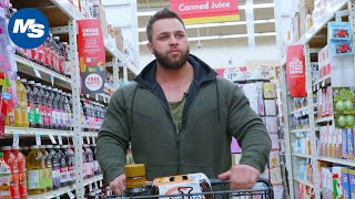 Grocery Shopping with Pro Bodybuilders | Regan Grimes