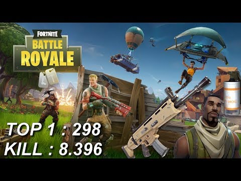 [FR/PC/LIVE] Fortnite  en solo lvl 100 ! / 298 wins / 8.396 kill Nouvelle mise à jour!