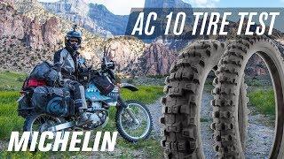 Michelin AC10 Dual Sport Tire Test