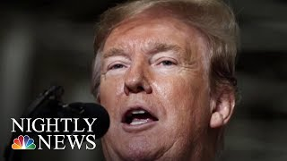 Trump Quiet About Mueller Report As 2020 Dems Call For Transparency | NBC Nightly News
