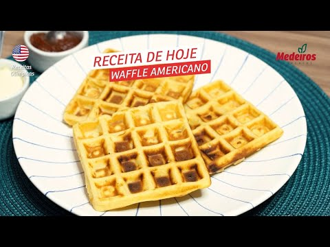 Receitou - Waffle Americano