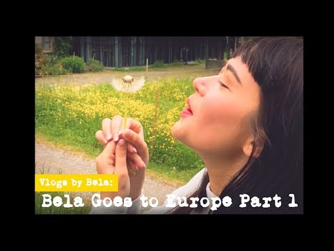 Vlogs By Bela: Bela Goes to Europe Part 1