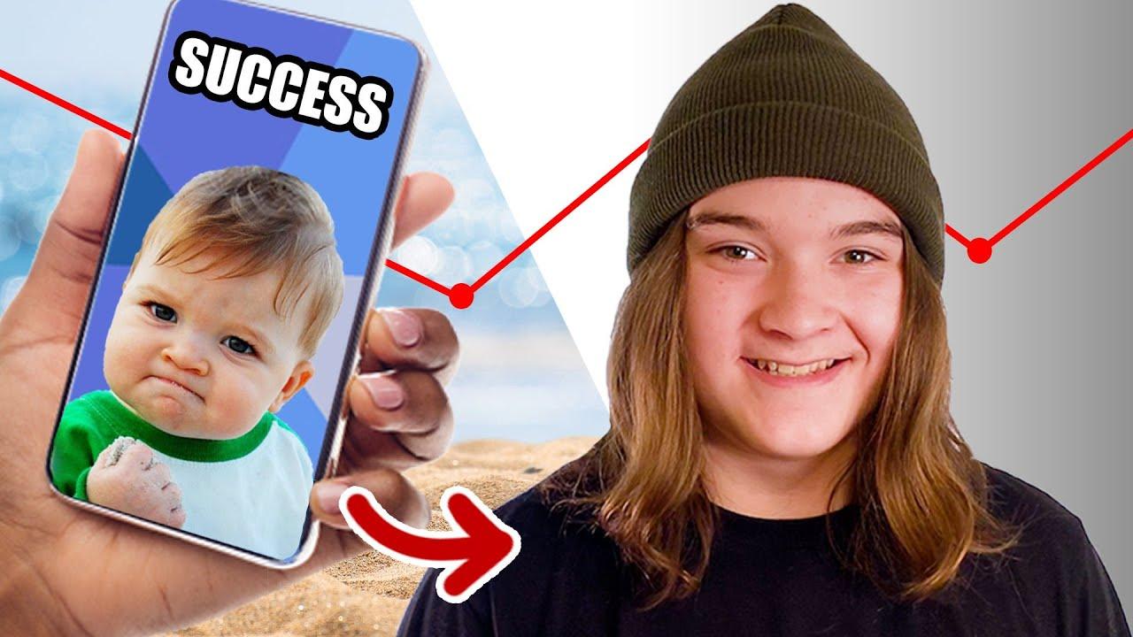 I Accidentally Became A Meme: Success Kid