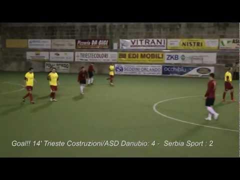 Trieste Costruzioni/ASD Danubio Vs Serbia Sport
