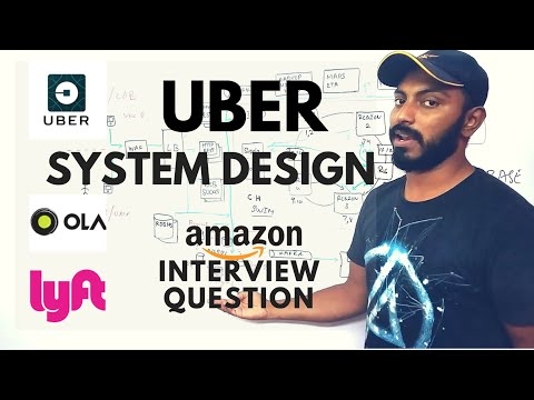 UBER System design | OLA system design | uber architecture | amazon interview question