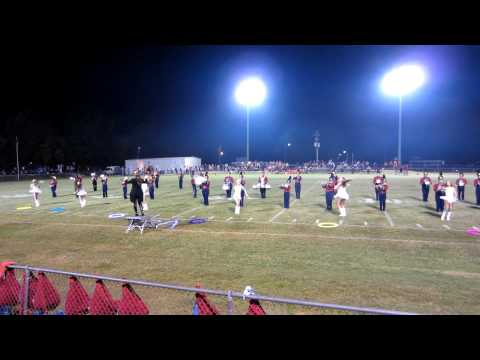 Pickens Academy Majorettes - October 5, 2012 Halftime Show (vs. Marengo Academy)