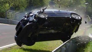 Repeat youtube video Nordschleife 2014 Big Crash & Fail Compilation Nürburgring Touristenfahrten VLN 24H Rallye