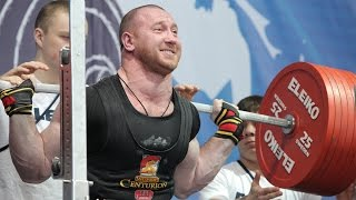 Russian Powerlifting Nationals - 2015. 93 kg. Leaders.