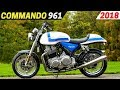 New 2018 Norton Commando 961   Updated Classic Styling Retro Motorcycle