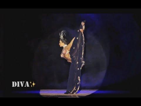 DIVA-DANCE 5th ELEMENT Tribal-Fusion HEELS...