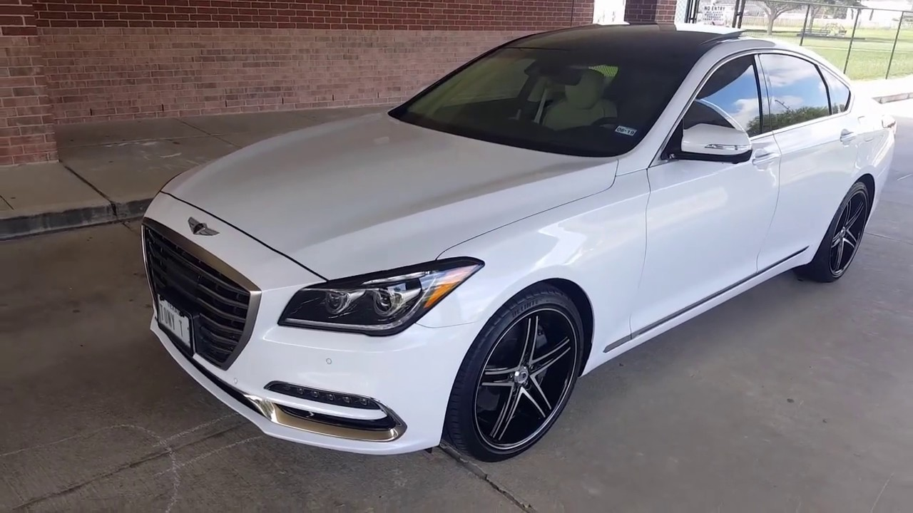 Genesis G80 20 Quot Wheels Youtube