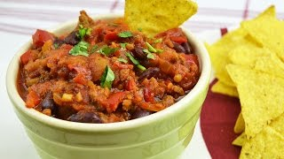 Beef & Bean Chili - How to Make Homemade Beef & Red Bean Chili