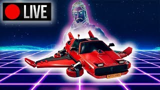 🔴 Hot Rod Glider is OUT! | Fortnite Nintendo Switch | Solo Matches w/Galaxy Skin!