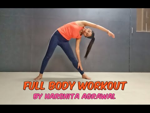 Full Body Warm-up \ Free Hand Exercises \ Easy Workout \ FDS \ Harshita Agrawal \ Rahul Raj