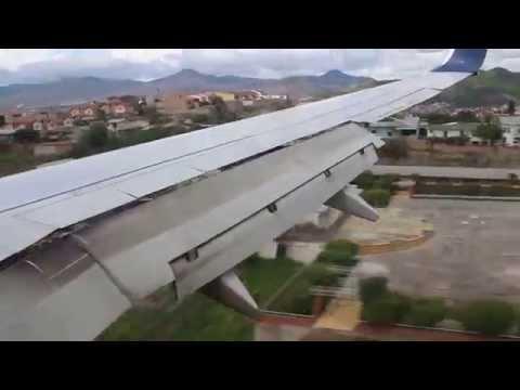 MHTG Tegucigalpa Toncontin Airport Landing Delta 737-700