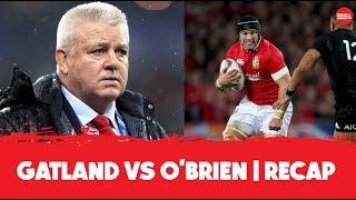 Warren Gatland vs Sean O'Brien  | Real Beef | OTB Recap