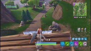 FORTNITE EPIC WIN WITH MOONWALKER SKIN !!!