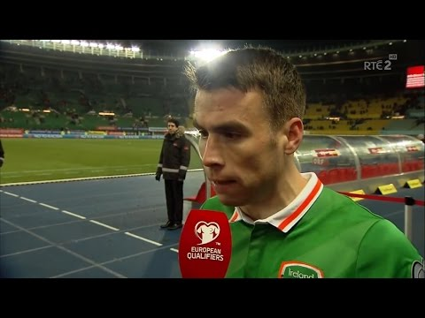 Austria v Republic of Ireland - Post Match Interview - Seamus Coleman (12/11/16)