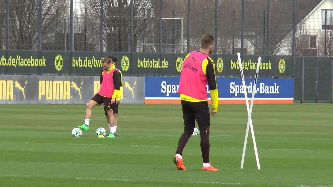 Reus und Toprak wieder im BVB-Mannschaftstraining